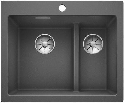 Кухонная мойка Blanco Pleon 6 Split, алюметаллик 521691