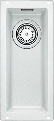 Кухонная мойка без крыла, гранит, белый Blanco Subline 160-U 513394