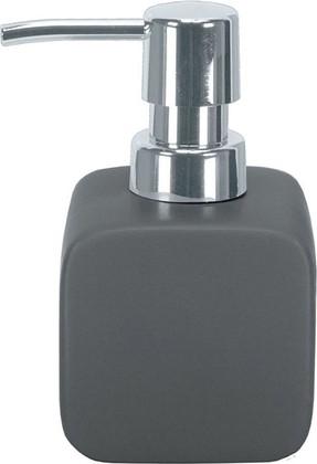 Ёмкость для жидкого мыла керамика, серый Kleine Wolke Cubic 5066901854