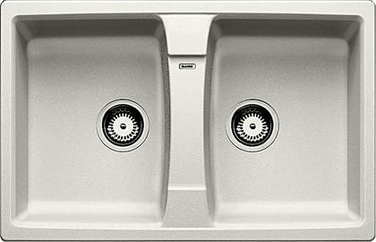 Кухонная мойка оборачиваемая без крыла, гранит, жемчужный Blanco LEXA 8 520561