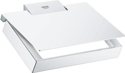 Держатель для туалетной бумаги Grohe Selection Cube, хром 40781000