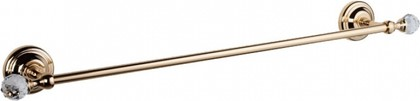Держатель полотенца 60см, золото с кристаллом swarovski TW Crystal TWCR111oro-sw
