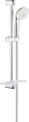 Душевой гарнитур Grohe Tempesta 100, 4 вида струи, 60см, полочка, хром 28593002