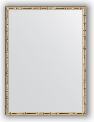 Зеркало 57x87см в багетной раме серебро-бамбук Evoform BY 0642