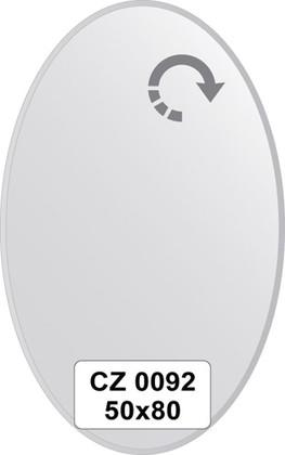 Зеркало для ванной 50x80см с фацетом 10мм FBS CZ 0092
