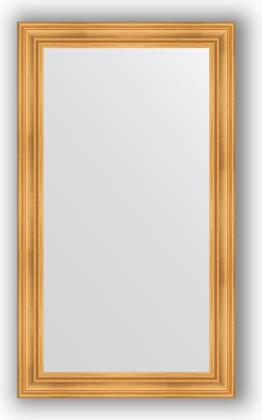 Зеркало в багетной раме 82x142см травленое золото 99мм Evoform BY 3315