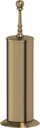 Туалетный ёршик 3SC Stilmar напольный, латунь, бронза STI 530