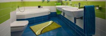 Коврик для ванной 60x100см зелёный Grund Luca b3742-016001226