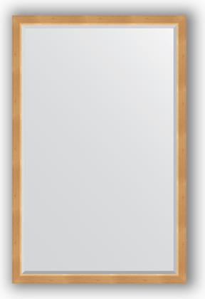 Зеркало 111x171см с фацетом 30мм в багетной раме сосна Evoform BY 1213