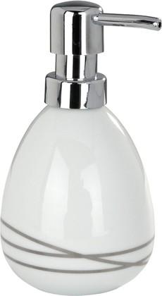 Ёмкость для жидкого мыла белая Wenko Noa 20015100