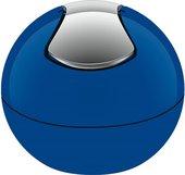 Ведро настольное 1л синее Spirella BOWL-SHINY 1014969