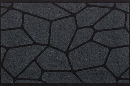 Коврик придверный 50x78см для помещения серая паутина, полиамид Golze CONTZEN MATS MICRO 1700-40-006-041