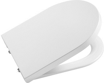 Сиденье с крышкой, микролифт, белое ROCA INSPIRA ROUND 80152200B