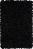 Коврик для ванной 60x90см чёрный Grund CORALL 2624.14.7014