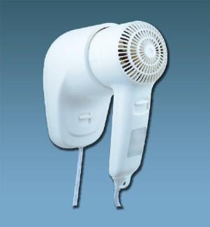 Фен настенный для волос, 1200Вт Connex HAD-120-18C