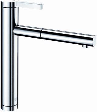 Смеситель кухонный однорычажный с выдвижным изливом, хром Blanco LINEE-S 517591