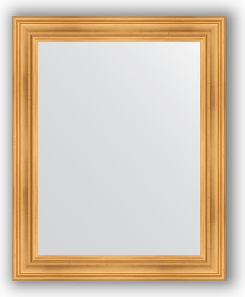 Зеркало в багетной раме 82x102см травленое золото 99мм Evoform BY 3283