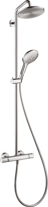 Душевой комплект с термостатом, хром Hansgrohe Raindance Select Showerpipe 240 27115000