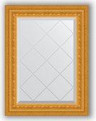 Зеркало Evoform Exclusive-G 550x720 с гравировкой, в багетной раме 80мм, сусальное золото BY 4009