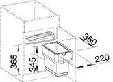 Система сортировки отходов с разделителем Blanco SINGOLO-S 512881