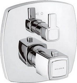 Термостат для душа встраиваемый без подключения шланга, хром Kludi Q-BEO 508350542