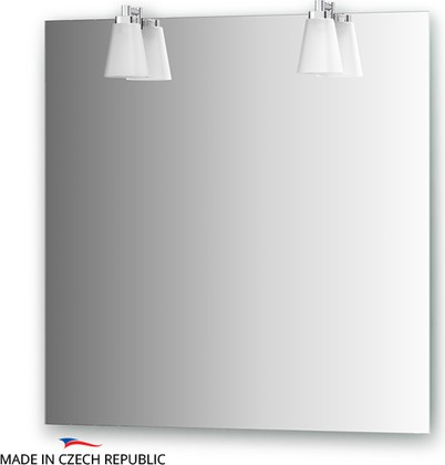 Зеркало со светильниками 75x75см Ellux LAG-A2 0210