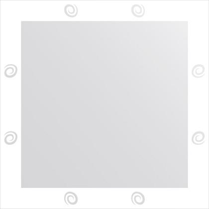 Зеркало для ванной с орнаментом 70x70см FBS CZ 0708