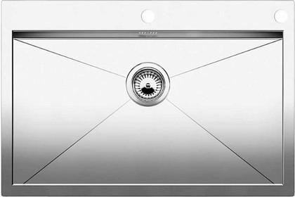 Кухонная мойка без крыла, с клапаном-автоматом, нержавеющая сталь зеркальной полировки Blanco Zerox 700-IF/A 515641