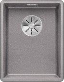 Кухонная мойка Blanco Subline 320-F, отводная арматура, алюметаллик 523418