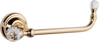 Держатель туалетной бумаги, золото с кристаллом swarovski TW Crystal TWCR019oro-sw