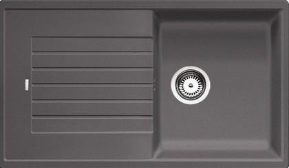 Кухонная мойка оборачиваемая с крылом, гранит, темная скала Blanco Zia 5 S 520512
