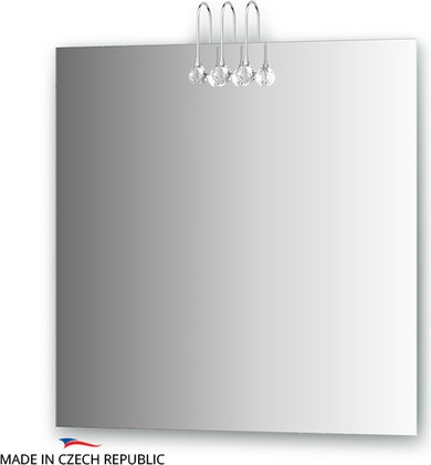 Зеркало 75x75см со светильниками Ellux CRY-C3 0210