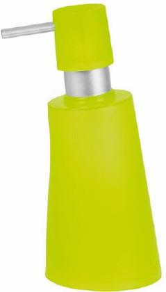 Ёмкость для жидкого мыла пластиковая зелёная Spirella Move 1009574