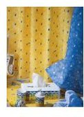 Штора для ванны 180x200см белая Spirella PORTOFINO 1032221-1