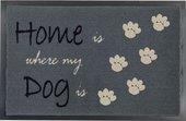 Коврик придверный Golze Homelike Home Dog, 40x60, серый 1676-15-47