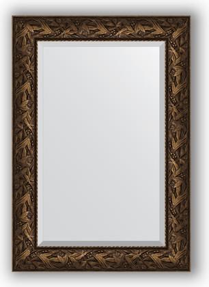 Зеркало с фацетом в багетной раме 69x99см византия бронза 99мм Evoform BY 3443