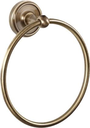 Держатель полотенца круглый, бронза TW Bristol TWBR015br