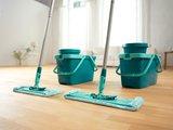 Комплект для мытья пола швабра с отжимом, 42см Leifheit CLEAN TWIST SYSTEM XL 52015