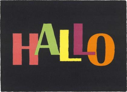 Коврик придверный 40х60см HALLO разноцветные буквы, полиамид Golze Young Star 1693-40-04