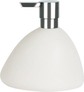 Ёмкость для жидкого мыла белая Spirella Etna 1010535
