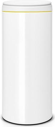 Мусорный бак 30л, белый Brabantia FlipBin 106866