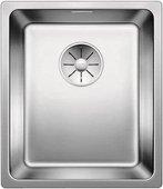 Кухонная мойка Blanco Andano 340-IF, отводная арматура, полированная сталь 522953
