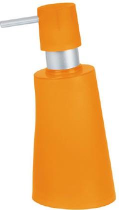 Ёмкость для жидкого мыла пластиковая оранжевая Spirella Move 1010473
