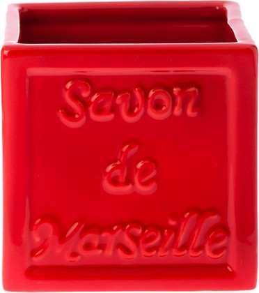 Стакан красный Spirella Savon De Marseille 4007272