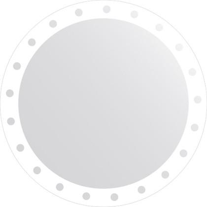 Зеркало для ванной с орнаментом диаметр 80см FBS CZ 0715