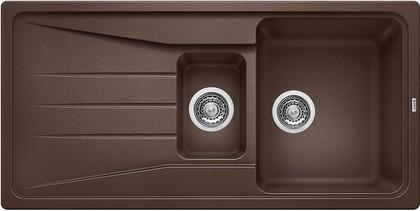 Кухонная мойка оборачиваемая с крылом, гранит, кофе Blanco Sona 6 S 519859