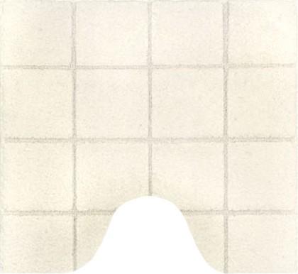 Коврик для туалета 55x55см натуральный Spirella TILE 1013452