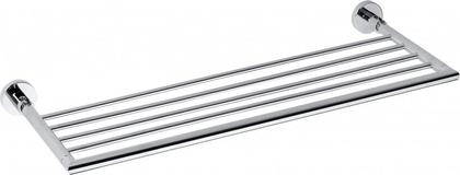 Полка для полотенец Bemeta Omega, откидная, 270x650мм, хром 104205152