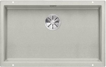 Кухонная мойка Blanco Subline 700-U, отводная арматура, жемчужный 523445