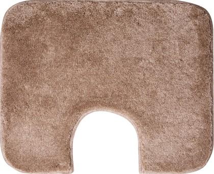 Коврик с вырезом для туалета 60x50см шоколадный крем Grund Ono 2399.06.4123